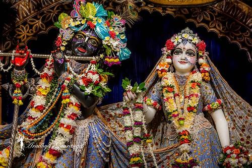 ISKCON Mayapur Deity Darshan 16 Sep 2019