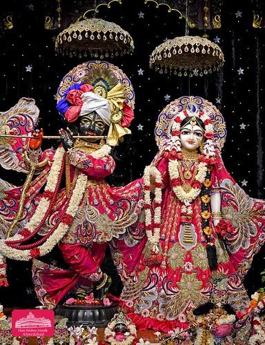 Hare Krishna Temple Ahmedabad Deity Darshan 17 Sep 2019