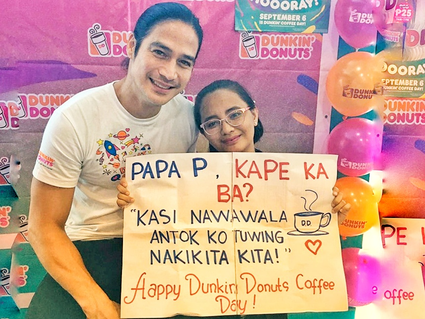Dunkin' Coffee with a side of Papa Piolo Pascual on Dunkin Coffee Day 2019!