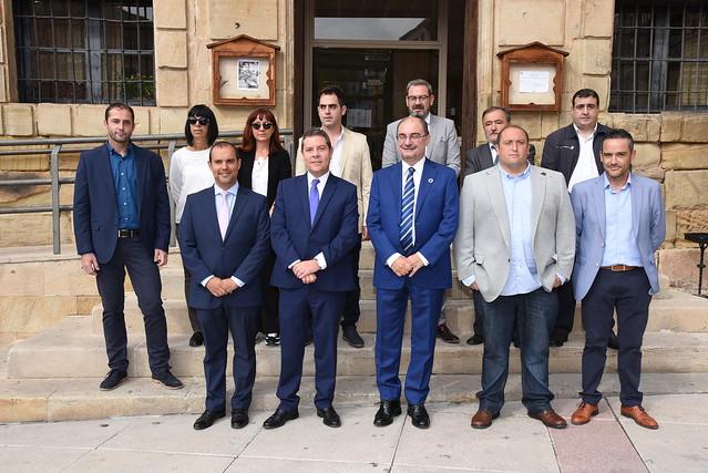 Reunión con el presidente de Aragón