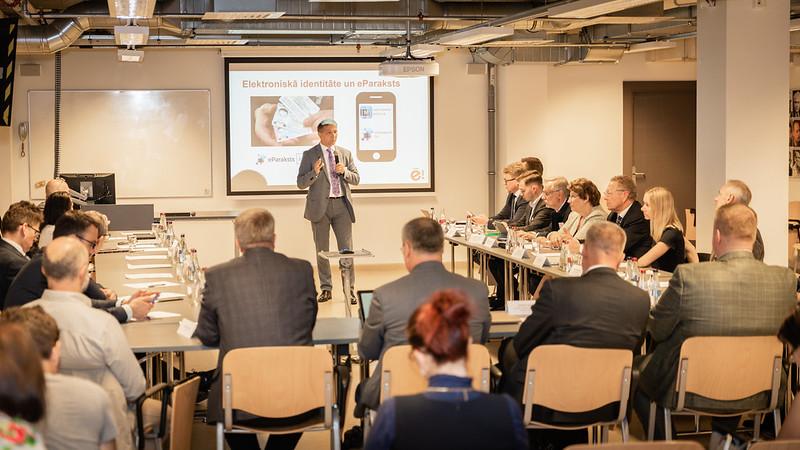 Konference «Digitalizācija – kā paplašināt mazo un vidējo uzņēmumu iespējas Latvijas tautsaimniecības izaugsmes veicināšanai?»