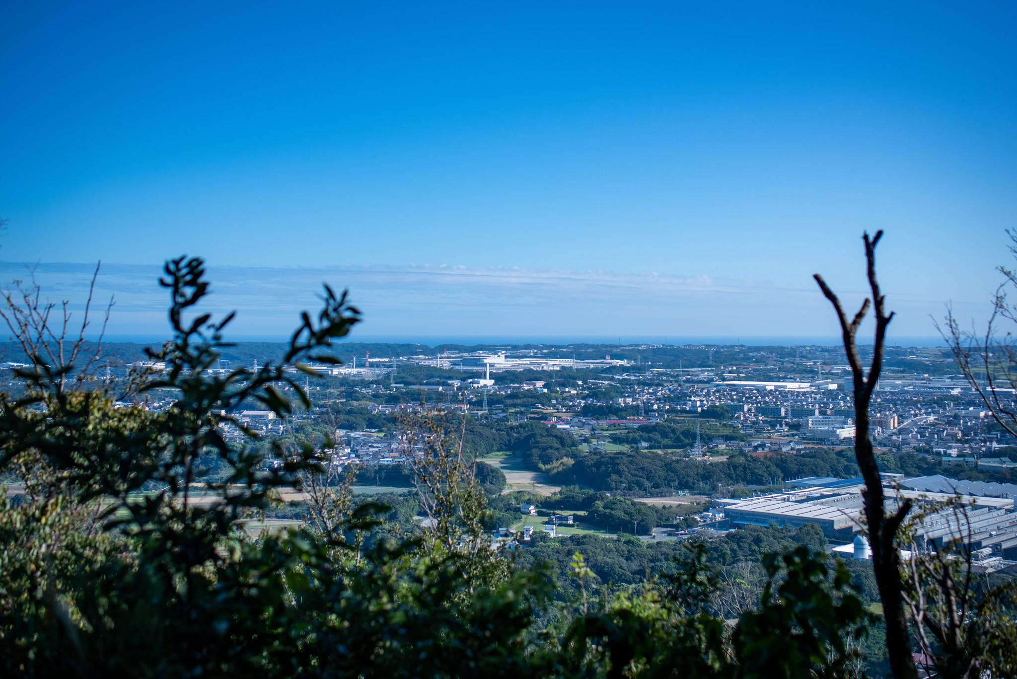 嵩山展望台 Tamron 45mm + Nikon D810