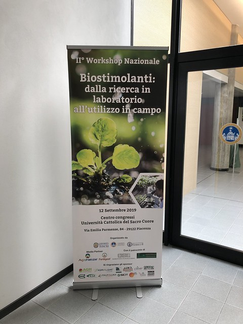 II° Workshop Nazionale  Biostimolanti 2019