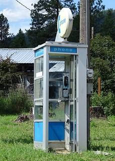 MT, Troy-U.S. 2 Phone Booth @ Idaho State Line