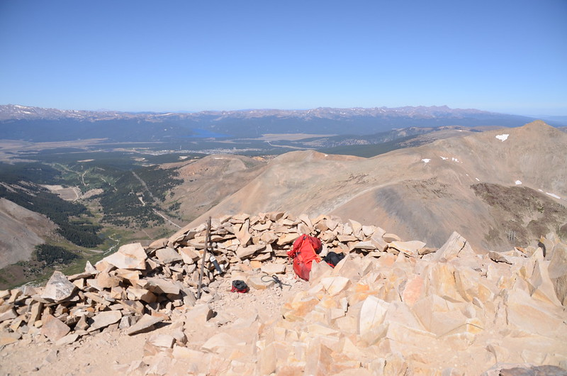 Looking southwest at mountains from Mount Sherman's summit (3)