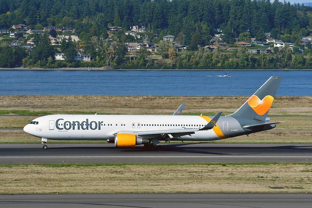 D-ABUP B767-3Q8ER cn 30048 Condor 190903 Portland International 1002