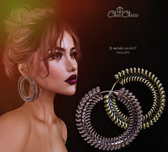 Alida earrings by ChicChica @ Tres Chic