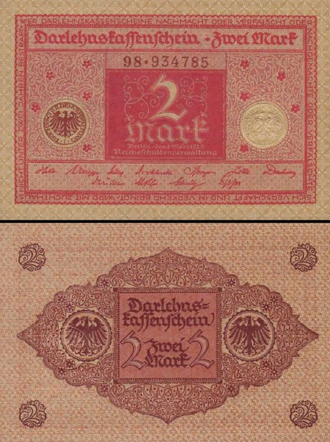 2 Mark Nemecko 1922, P60