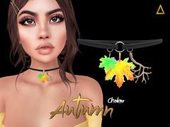 AseRiz - choker Autumn -10L