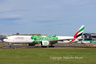 B777 A6-EPF EMIRATES special colours