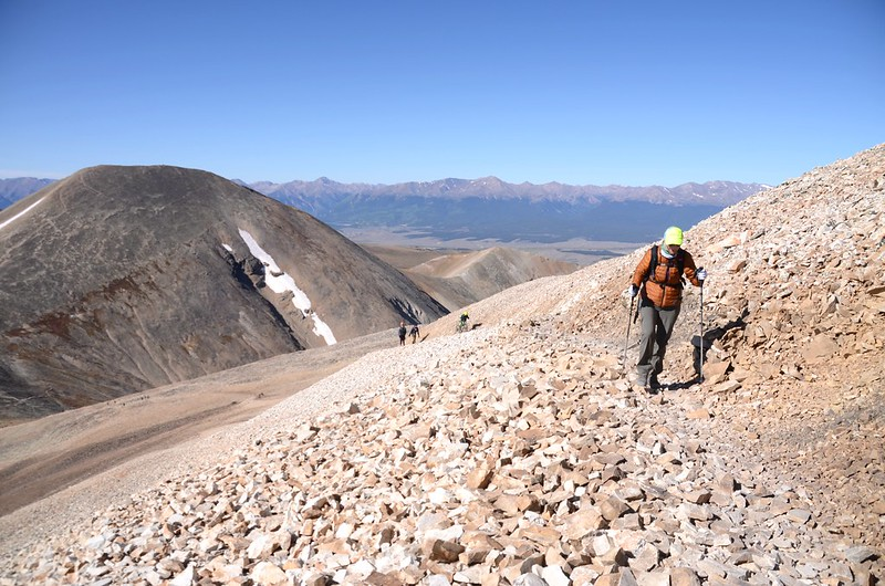 The southwest ridge of Mount Sherman (4)