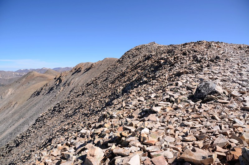 The south end of the long summit ridge (1)