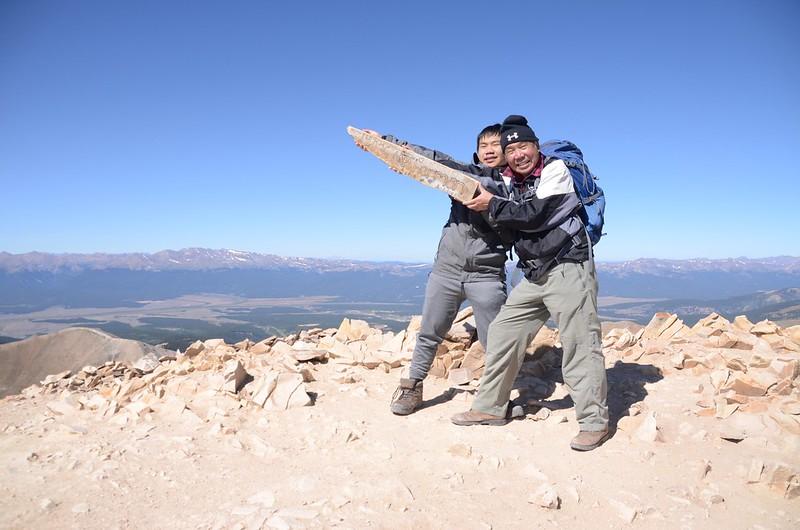 Taken at the summit of Mount Sherman (61)