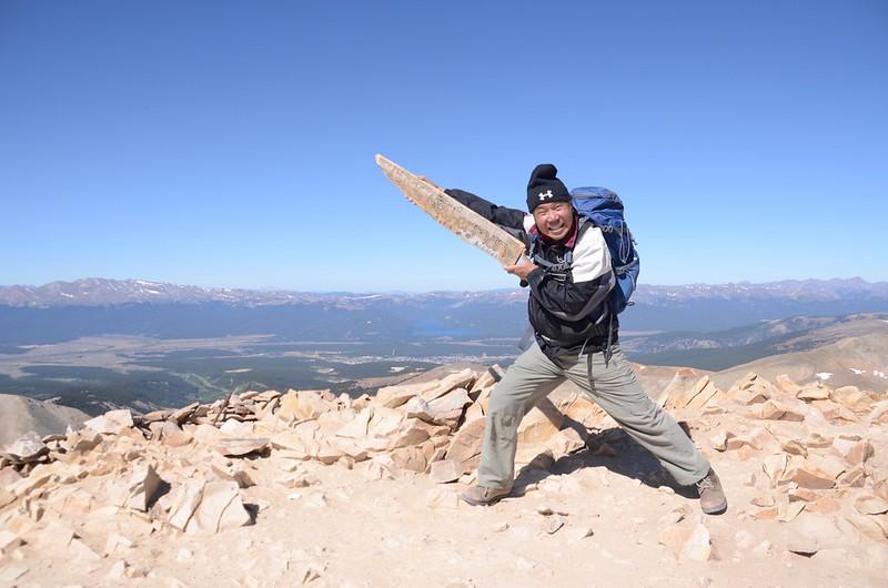 Taken at the summit of Mount Sherman (53)