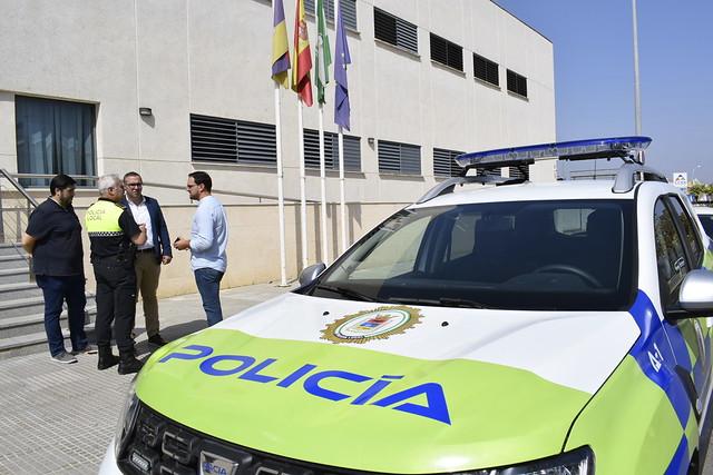 Nuevo vehículo para la Policía Local de Los Palacios y Vfca