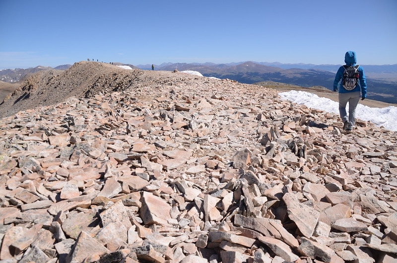 The south end of the long summit ridge (6)