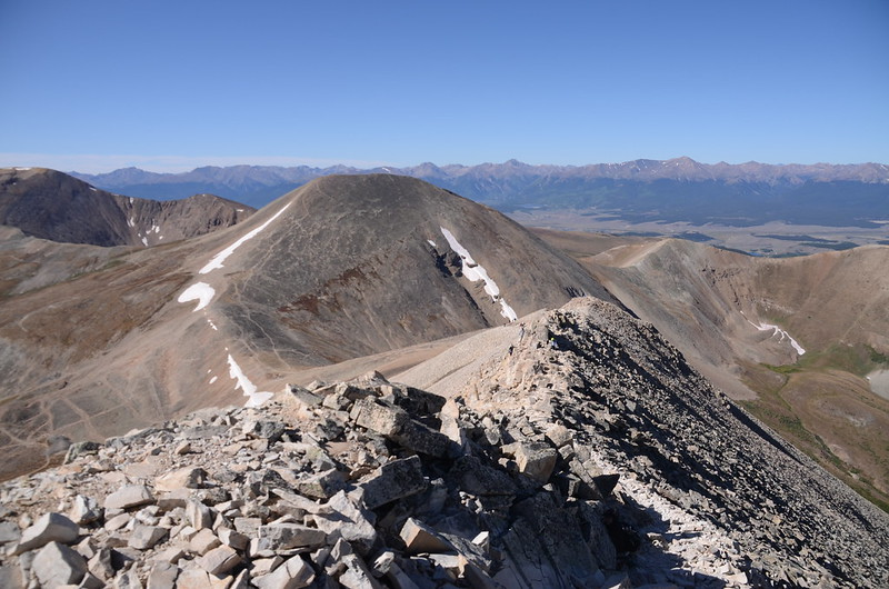Narrow ridge near the summit (4)