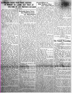 2019-09-17. Labor Day, News, 9-6-1923
