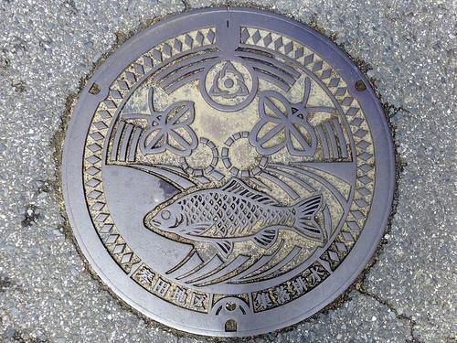 Kotoda Asahi Chiba, manhole cover (千葉県旭市琴田のマンホール)