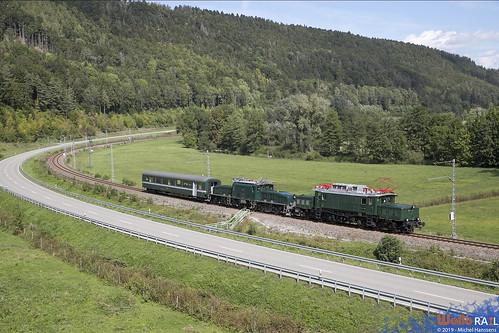 E94 088 . IGSEE + Ce 6-8 . 14305 . SBB Historic .  Sulz am Neckar . 19.09.19.