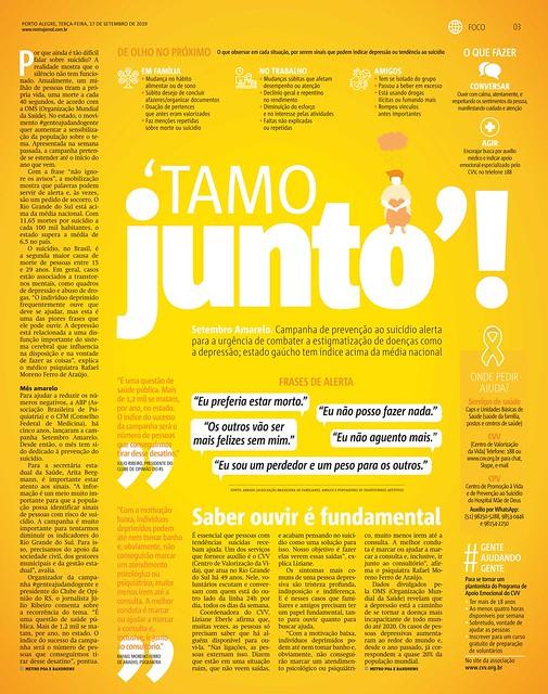 'TAMO JUNTO'! - Metro 2019