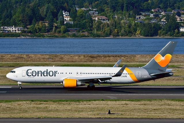 D-ABUP B767-3Q8ER cn 30048 Condor 190903 Portland International 1003