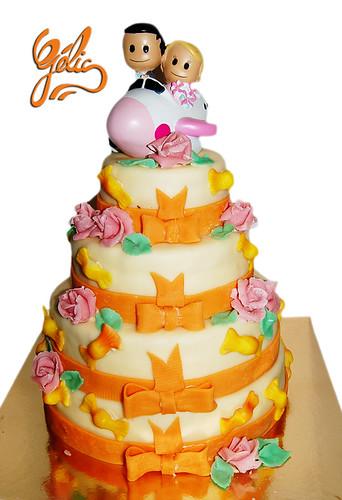 Wedding Cake Bonbons et Roses