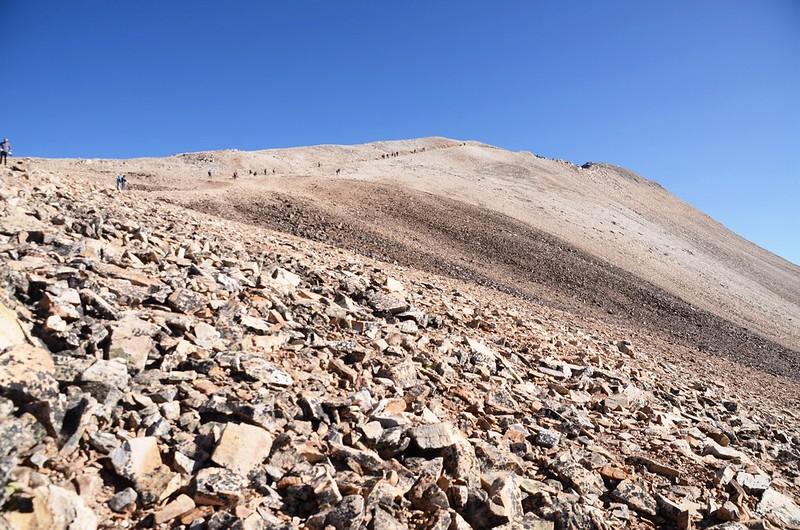 The southwest ridge of Mount Sherman (1)