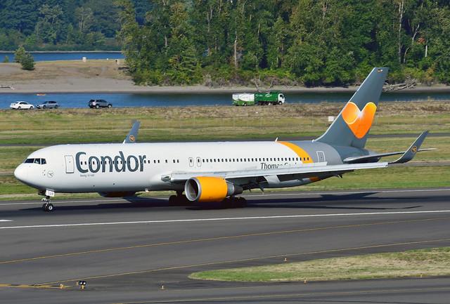 D-ABUP B767-3Q8ER cn 30048 Condor 190903 Portland International 1001