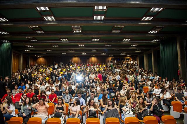Acolhimento geral dos novos estudantes da UC