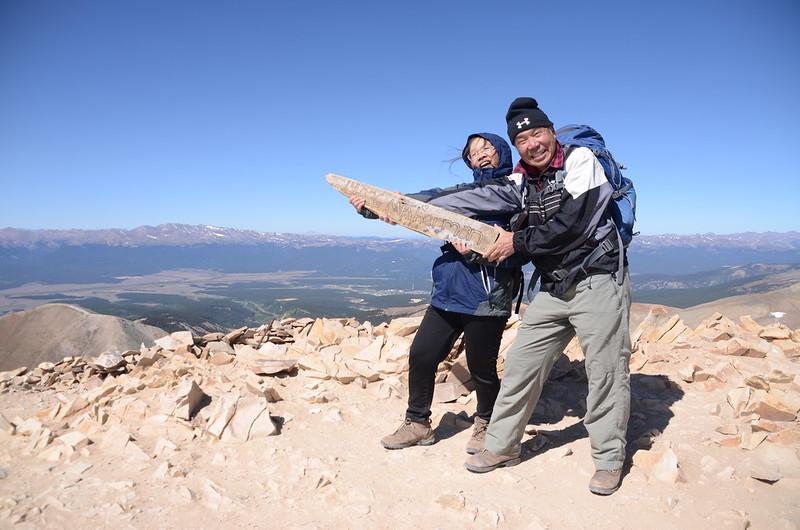 Taken at the summit of Mount Sherman (60)