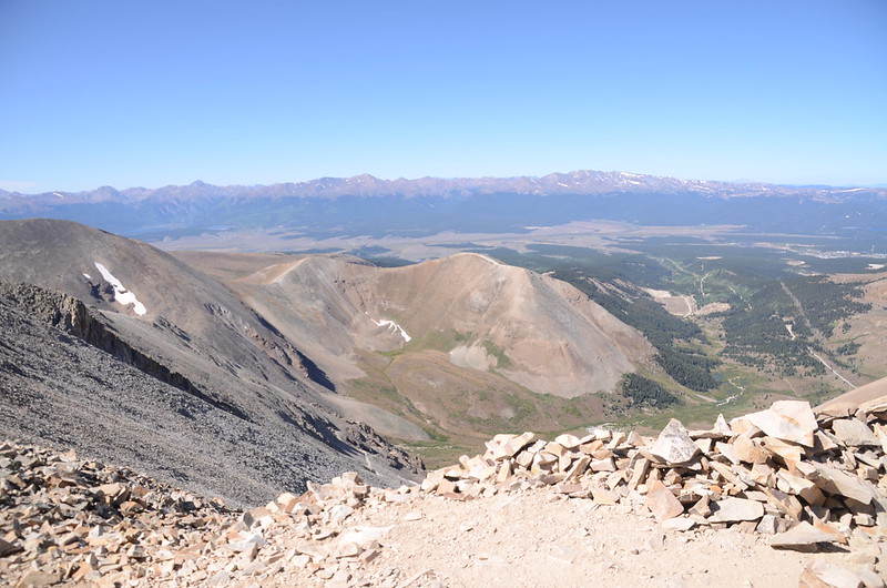 Looking southwest at mountains from Mount Sherman's summit (2)