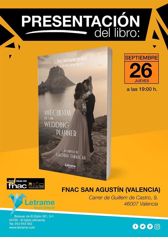 Presentacion Gloria Tabascar Anecdotas de una Wedding Planner Fnac