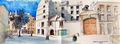 PARIS rue Saint Julien le Pauvre