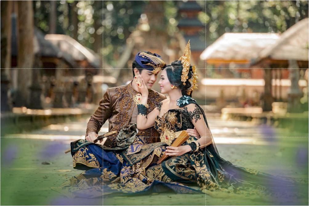 Paket jasa foto dan jasa makeup prewedding dengan rias bali gaun bridal murah jakarta surabaya