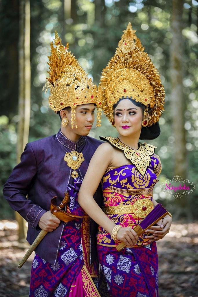 Paket jasa foto dan makeup prewedding dengan rias bali gaun bridal murah jakarta surabaya bandung