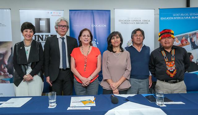 Rueda de prensa sobre el Congreso Internacional de Educación, Lenguas Indígenas, Territorios del Saber e Interculturalidad LITSI