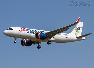 F-WWDA Airbus A320 Neo Jet Smart