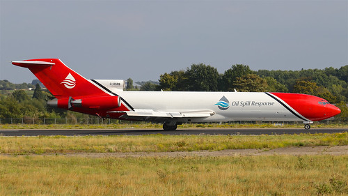G-OSRB T2 Aviation Boeing 727-200 - Maastricht Aachen Airport (MST/EHBK) | by pascal_mst