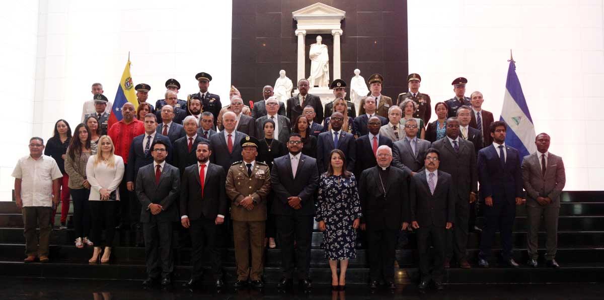 Conmemoran en Caracas 198 Aniversario de la Independencia de Nicaragua