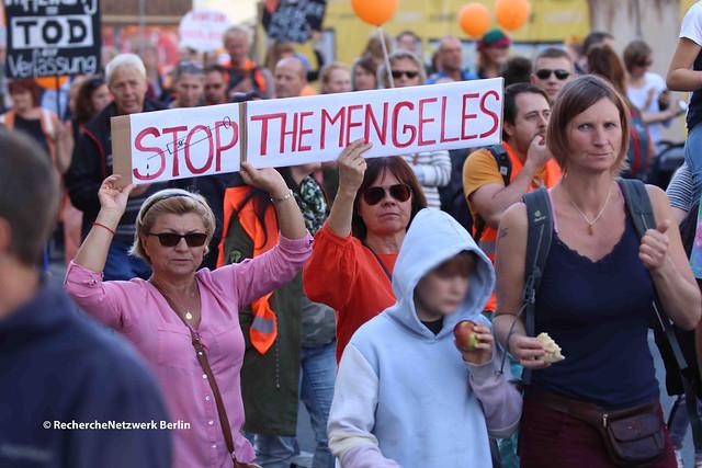 """14.09.2019 Berlin: Demonstration """"für freien Impfentscheid"""""""