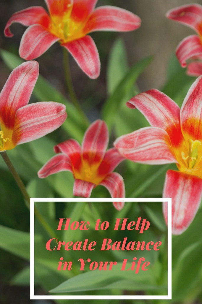 Creating balance in your life by starting the day right!
