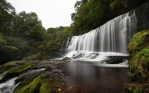 breconbeacons afonmellte sgwdisafclungwyn uk longexposure wales waterfall