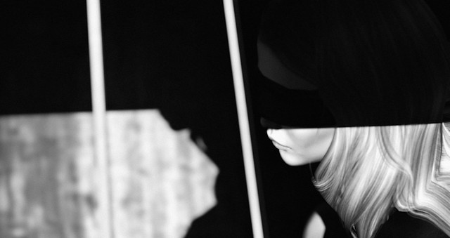 Won't you wrap the night around me?
