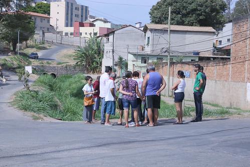 Visita técnica para verificar condições de trafegabilidade na Rua Ciclópica, entre as Ruas Antônia Felícia dos Reis e Rita Ferreira - Comissão de Desenvolvimento Econômico, Transporte e Sistema Viário