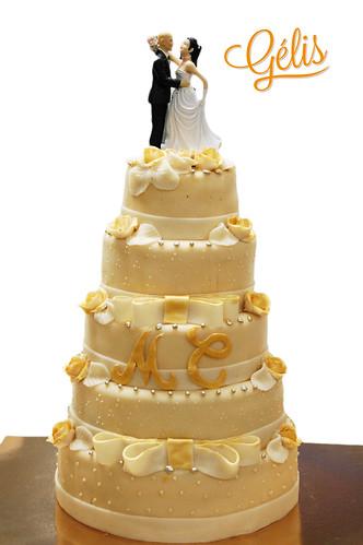 Wedding cake M&C