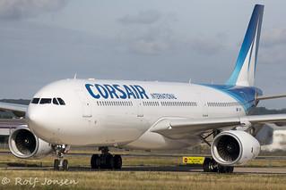 F-HSKY Airbus A330-300 Corsair Orly airport LFPO 13.08-19