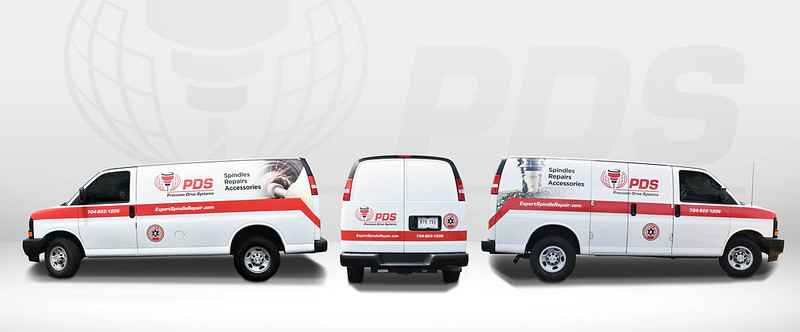 PDS Van Vehicle Wrap