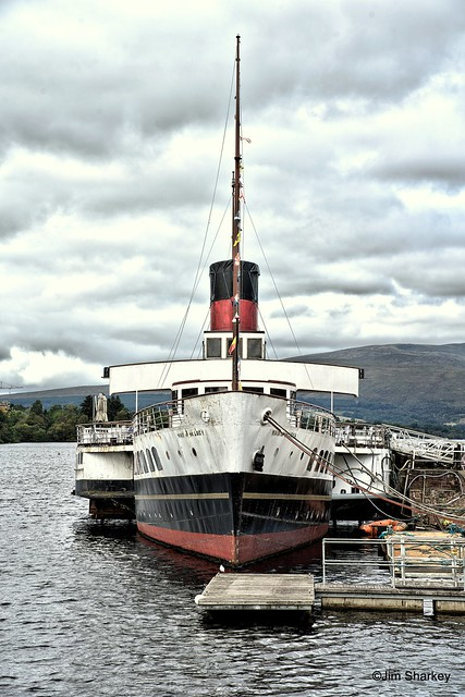 Maid of the Loch, Loch Lomond, Scotland