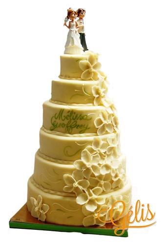 Wedding cake Melissa Geoffrey
